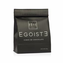 Egoiste Variedades de Cubo de Chocolate 100 Grs