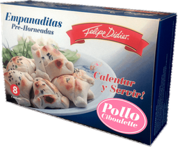 Empanaditas de Pollo Ciboulette Pre-Horneadas