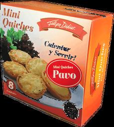 Mini Quiches de Pavo