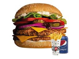 Combo Hamburguesa Premium Diego