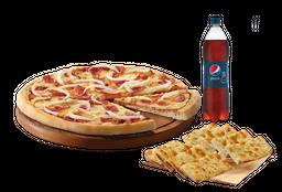 Pizza Mediana con Bebida & Complemento
