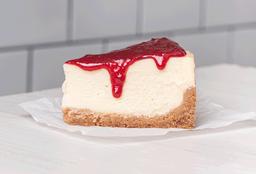 Trozo cheesecake new york & berries