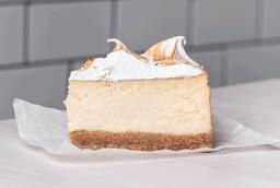Trozo cheesecake lemon