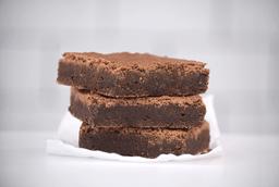Brownie húmedo tradicional