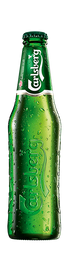 Cerveza Carlsberg 330 cc. (Botella)