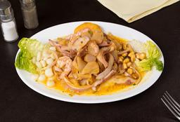 Ceviche Mixto al Ají Amarillo