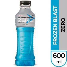 Bebida Powerade Frozen Blast Zero 600 ml
