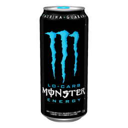 Bebida Energética Monster Lo-Carb 473 mL