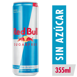 Red Bull Sugarfree Vettel Bebida Energetica Lata 355mL