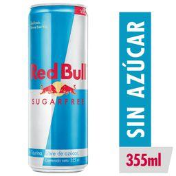 Red Bull Sugarfree Vettel Bebida Energetica Lata 355mL