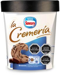 La Cremeria Brownie Helado 1L
