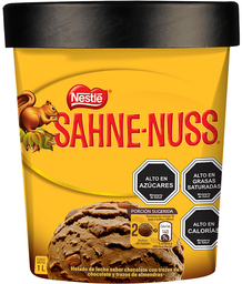 Helado Sahne Nuss 1Lt