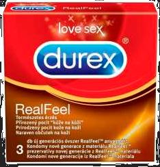 Durex Real Feel Preservativos 3Un
