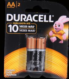 Pila Bateria Duracell AA 2Un