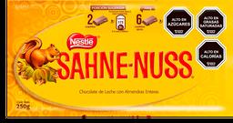 Chocolate Sahne-Nuss Con Almendras 250 g