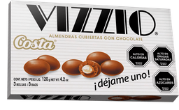 Chocolate Vizzio Costa 120g