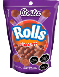 Chocolate Rolls Crocante Costa 150g