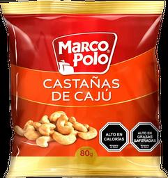Castañas de Cajú Marco Polo  80 g