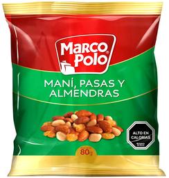 Mix Mani - Pasas y Almendras 80g