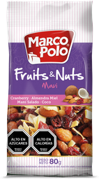 Mix Fruits & Nuts Maui Marco Polo 80g