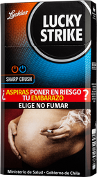 Cigarros Lucky Strike Crush Double Click 20 unid