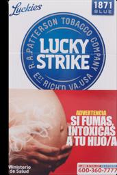 Lucky Strike Azul Patt Cigarros 20Un