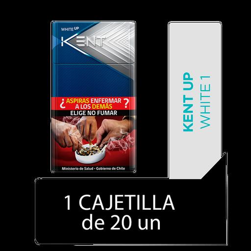 Kent Up White 1 Cigarrillos Cajetilla 20Un