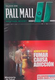 Pall Mall Mint Cap Cigarros 20Un