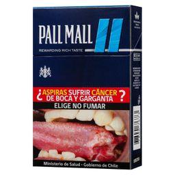 Cigarros Pall Mall FiltersBlue 20 U