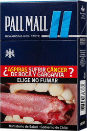 Cigarros Pall Mall Filters Blue 20 unid