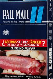 Cigarros Pall Mall FiltersBlue 20 unid