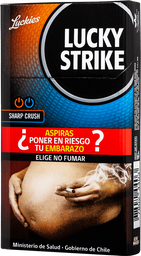 Cigarro Lucky Strike Crush 10 unid
