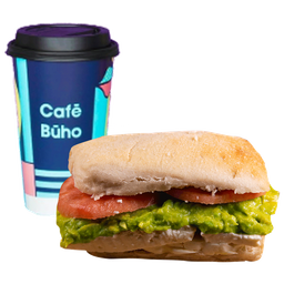 Sándwich Pan Italiano + Café a elección