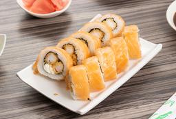 Tempura Ebi Sake Roll