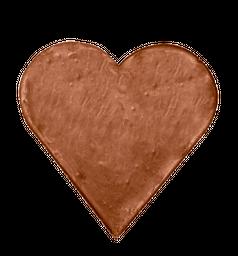 Corazon de chocolate leche sin azúcar - 150 g