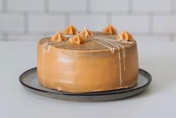 Torta Brownie & Manjar Blanco y Frambuesa
