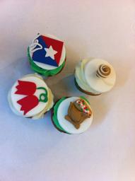 Cup cakes fiestas patrias