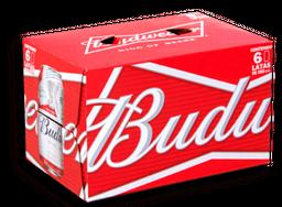 Cerveza Budweiser Lata Sixpack 355cc