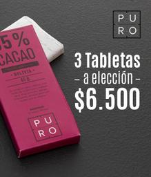 Promo Rappi: 3 barras a Elección