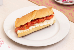 Sándwich Griego (Vegetariano)