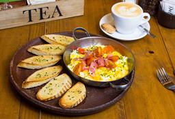 Desayuno Campestre + Café Grande o Té con Leche