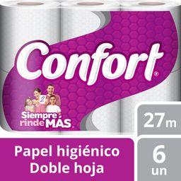 Papel Hig.Confort Dh 27Mt 6Un