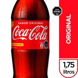 Bebida Coca Cola Original Botella 1.75Lt