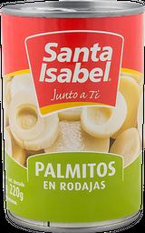 Palmito Rodaja Santa Isabel 220 Gr Dr