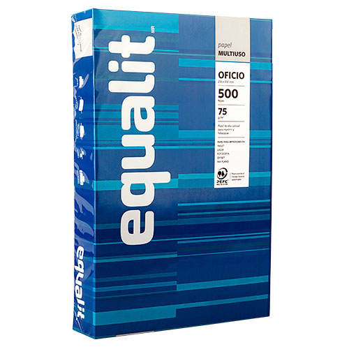 Equalit Papel Oficio 500Hjs