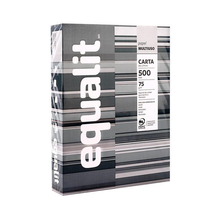 Equalit Papel Carta 500 Hojas