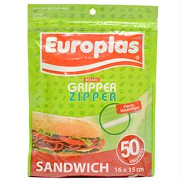 Europlas Bolsa Hermetica Sandwich 16X15