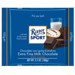 Chocolate Leche Suave Ritter 100 Gr