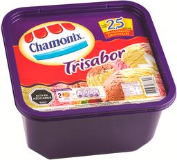 Helado de Crema Chamonix Trisabor 2.5 L