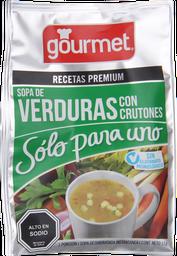 Sopa P/Uno Gourmet Verd C/Crutones 15 Gr